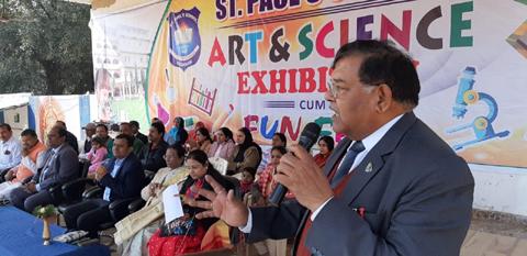 संतपाल स्कूल में बनेगा रोबोटिक लैब / डा. रागिनी के नेतृत्व में चित्रगुप्त कल्याण ट्रस्ट / याद किए गए स्वामी विवेकानंद, सुभाषचंद्र बोस