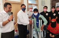109 दिव्यांगों को मिले कृत्रिम अंग/ कोरोना : फिर बढ़ रहा प्रकोप/ साइडइफेक्ट का होमियोपैथी में कारगर इलाज